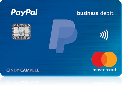 the paypal debit card with the emv chip is here - Paypal Business Debit Card